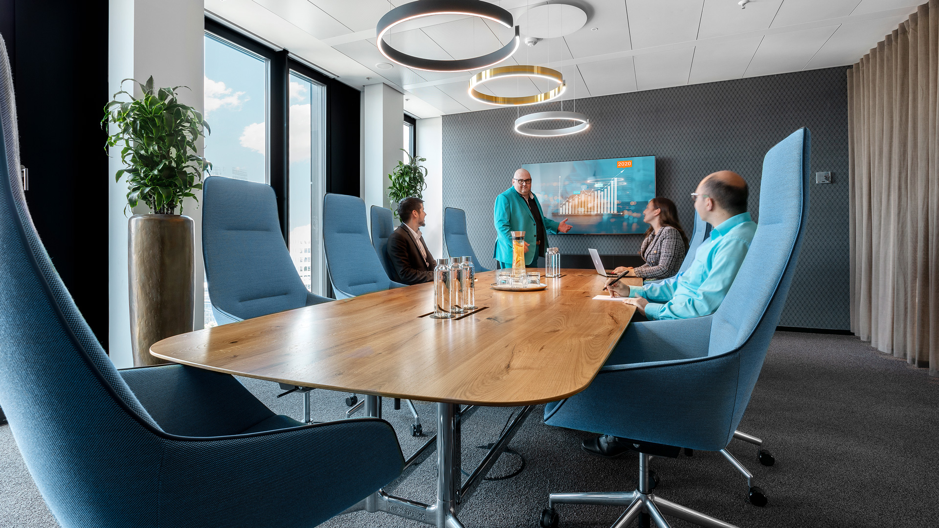 Conferencing Room K1 at WINX Frankfurt